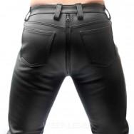 Jeans ZIPPER FUN BLACK